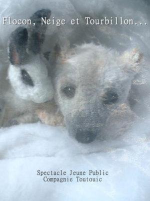 Compagnie toutouic flocon neige tourbillon spectacle pour enfants Bretagne