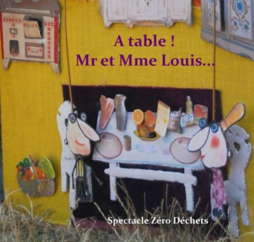 A table Mr et Mme Louis