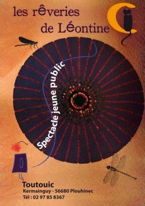Les Rêveries de Léontine Compagnie Toutouic spectacle pour enfants